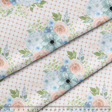 """Ткань """"Цветущие сады"""" №6 (48х50 см) — фото, картинка"""