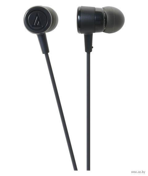 Наушники Audio-Technica ATH-CKL220iS (черные) — фото, картинка