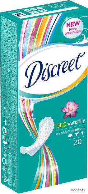 """Ежедневные прокладки Discreet Deo """"Водная Лилия"""" (20 шт)"""