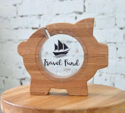 """Копилка """"Свинка. Travel Fund"""" (арт. BP-1.012) — фото, картинка"""
