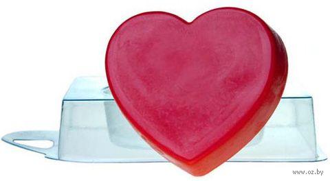 """Форма для изготовления мыла """"Сердце"""""""