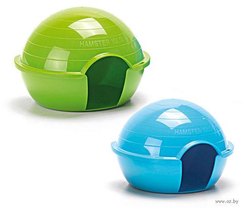 "Домик пластиковый для грызунов ""Hamster iglo"" (15х12х11 см) — фото, картинка"