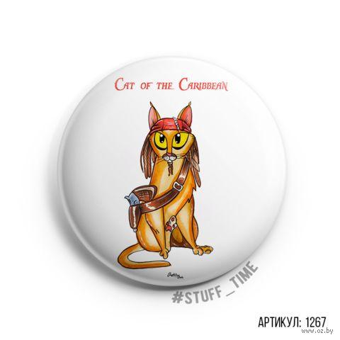 "Значок ""Cat of the Caribbean"" (арт. 1267) — фото, картинка"