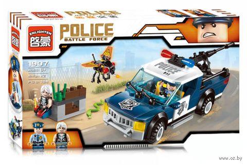 """Конструктор """"Police. Полицейская засада"""" (186 деталей) — фото, картинка"""