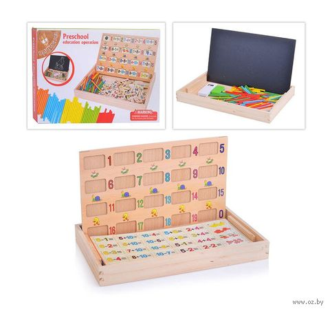 """Развивающая игрушка """"Учимся считать"""" (арт. D0161) — фото, картинка"""