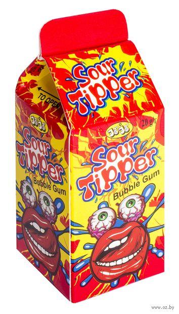 """Жевательная резинка """"Sour Tipper"""" (20 г) — фото, картинка"""