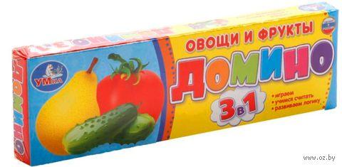 """Домино """"Овощи и фрукты"""" — фото, картинка"""