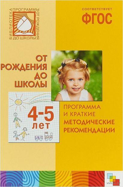 Программа и краткие методические рекомендации. Для работы с детьми 4-5 лет — фото, картинка