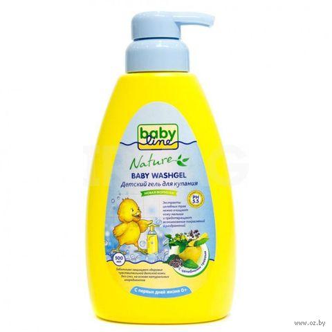 """Гель для купания детский """"Babyline. Целебные травы"""" (500 мл) — фото, картинка"""
