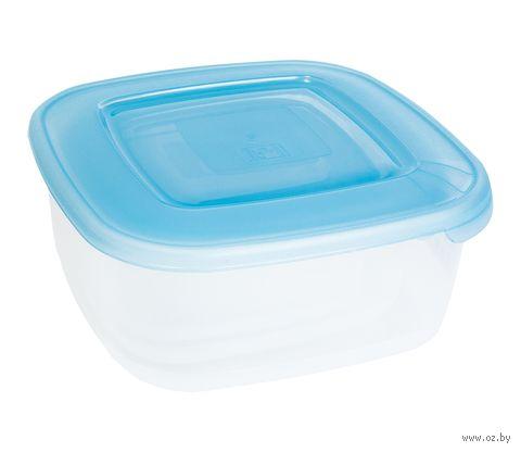 Набор контейнеров пластмассовых термостойких квадратных (3 шт.; 0,95/1,5/2,5 л)