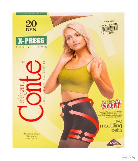 "Колготки женские корректирующие ""Conte. X-Press 20"" — фото, картинка"