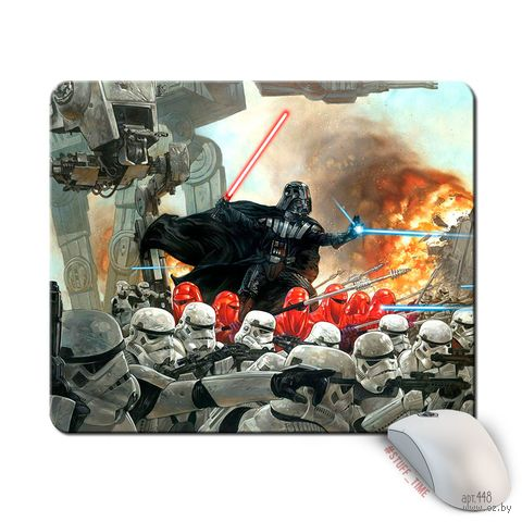 """Коврик для мыши большой """"Звездные войны"""" (арт. 448)"""