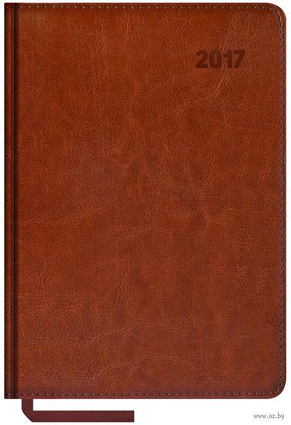 """Ежедневник датированный """"Sarif"""", 2017 (А5; 176 листов; коричневый)"""