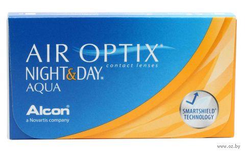"""Контактные линзы """"Air Optix Night and Day Aqua"""" (1 линза; -2,5 дптр) — фото, картинка"""