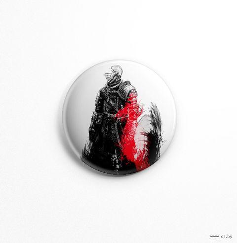 "Значок маленький ""Dark souls"" (арт. 855) — фото, картинка"