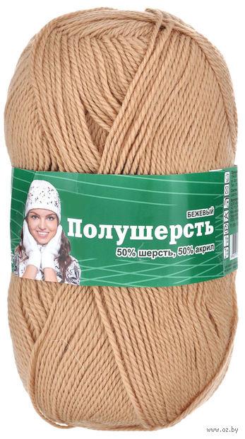 """Пряжа """"Астра. MIX Wool"""" (бежевая; 100 г; 250 м) — фото, картинка"""