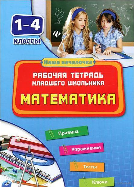 Математика. 1-4 классы. Рабочая тетрадь младшего школьника. Татьяна Зеркальная