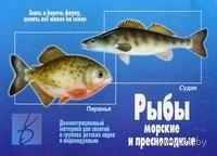 """Игра """"Рыбы морские и пресноводные"""""""