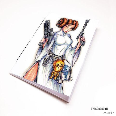 """Блокнот """"Звездные войны"""" (А7; арт. 916) — фото, картинка"""