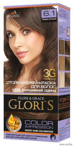 Крем-краска для волос (тон: 6.1, темно-русый) — фото, картинка