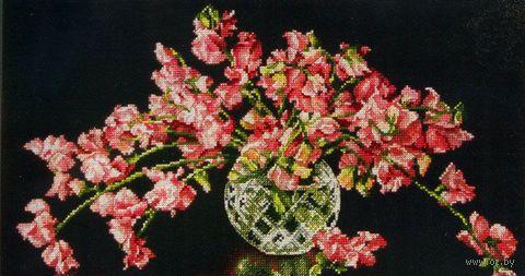 """Вышивка крестом """"Ваза с цветами"""" (арт. DMS-70-35284)"""
