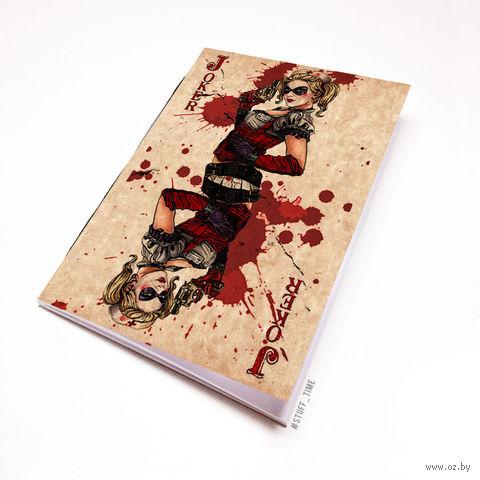 """Блокнот крафт """"Харли Квинн"""" (А5; арт. 763) — фото, картинка"""