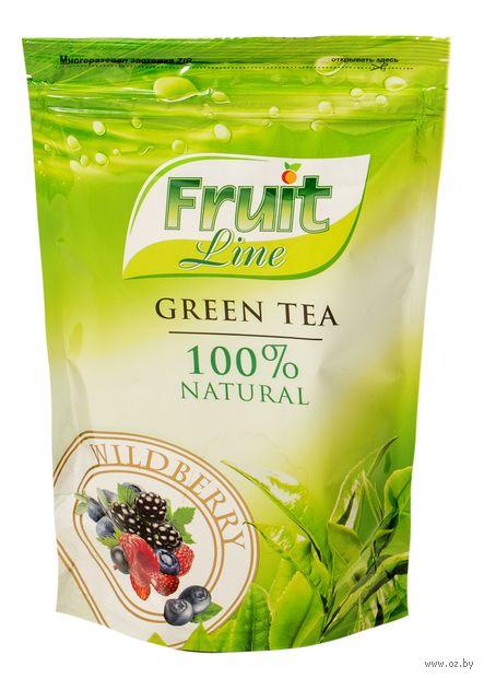 """Чай зеленый листовой """"Fruit Line. Лесная ягода"""" (80 г) — фото, картинка"""