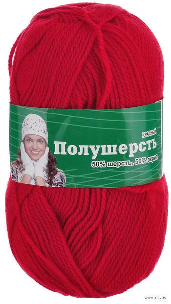 """Пряжа """"Астра. MIX Wool"""" (красная; 100 г; 250 м) — фото, картинка"""