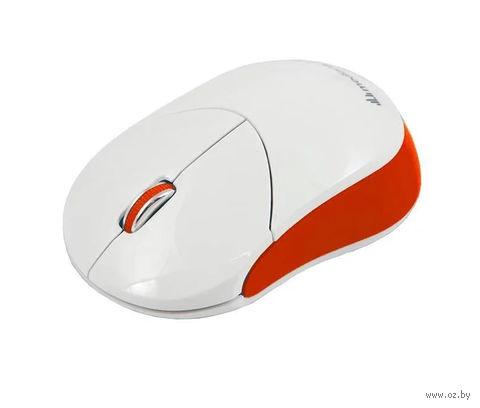 Беспроводная оптическая мышь Mediana WM-332 (white-red) — фото, картинка