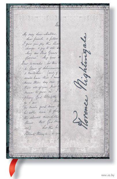 """Записная книжка Paperblanks """"Флоренс Найтингейл. Письмо о вдохновении"""" (формат: 100*140 мм, мини)"""