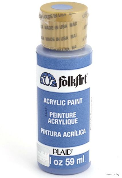 "Краска акриловая ""FolkArt. Acrylic Paint"" (темная гортензия; 59 мл; арт. PLD-00520) — фото, картинка"