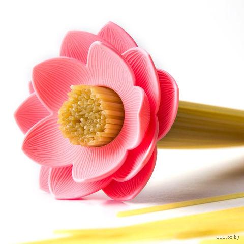 "Мера для спагетти ""Lotus"" (розовая)"