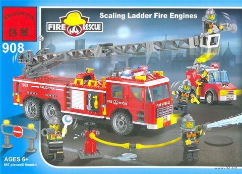 """Конструктор """"Fire Rescue. Пожарная техника"""" (605 деталей) — фото, картинка"""