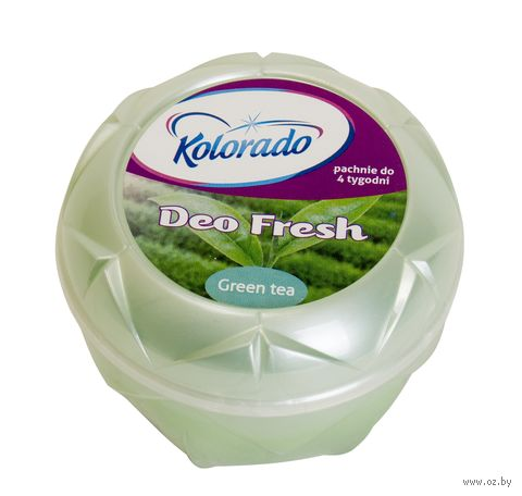 """Освежитель воздуха гелевый """"Kolorado Deo Fresh. Зеленый чай"""" (150 г) — фото, картинка"""