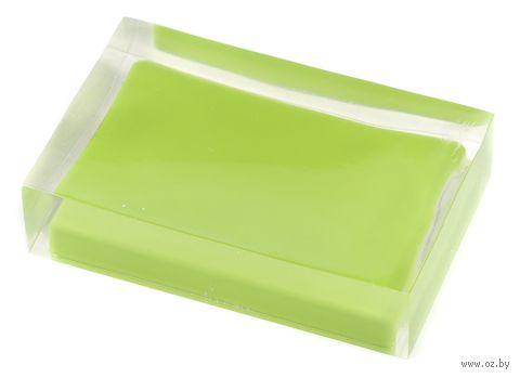 "Мыльница ""Colours"" (зеленая) — фото, картинка"