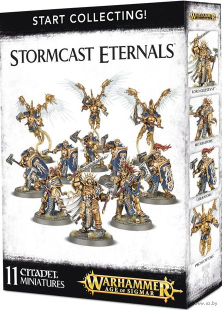 Warhammer Age of Sigmar. Stormcast Eternals. Start Collecting (70-96) — фото, картинка