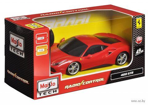 """Автомобиль на радиоуправлении """"Ferrari 488 Gtb"""" (со световыми и звуковыми эффектами; масштаб: 1/24) — фото, картинка"""