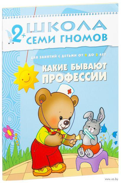 Какие бывают профессии. Для занятий с детьми от 2 до 3 лет. Дарья Денисова