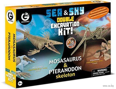 """Набор археолога  """"Мозазавр и Птеранодон"""""""