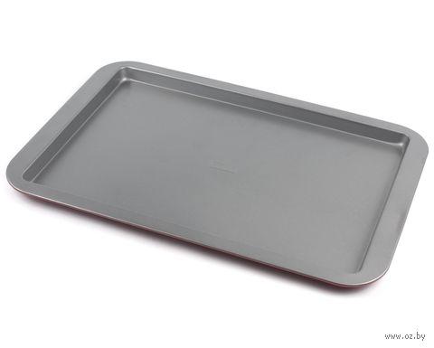 Противень для запекания металлический (430х290х20 мм) — фото, картинка
