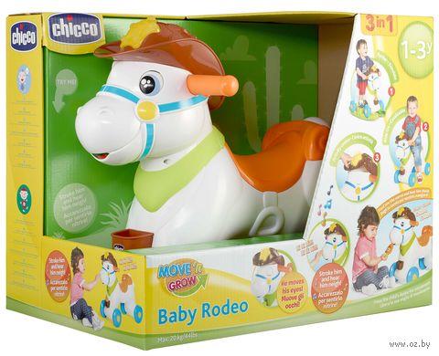 """Каталка-качалка """"Baby Rodeo"""" (со световыми и звуковыми эффектами) — фото, картинка"""