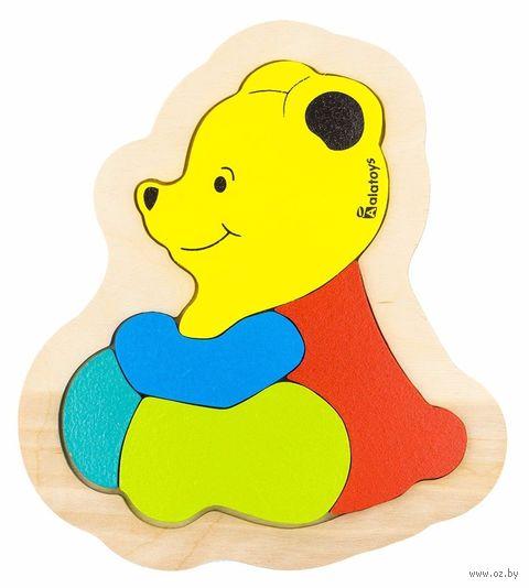 """Рамка-вкладыш """"Медвежонок"""" (арт. ПЗЛ2005) — фото, картинка"""