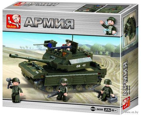 """Конструктор """"Головной танк"""" (312 деталей) — фото, картинка"""
