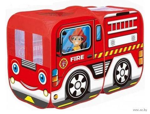 """Детская игровая палатка """"Пожарная машина"""" — фото, картинка"""