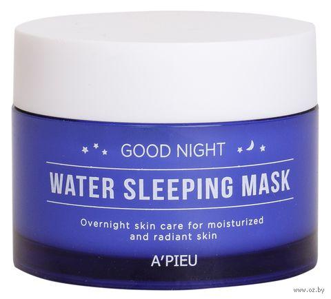 "Ночная маска для лица ""Good Night Water"" (105 мл) — фото, картинка"