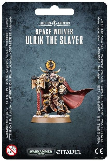 Warhammer 40.000. Space Wolves. Ulrik the Slayer (53-17) — фото, картинка