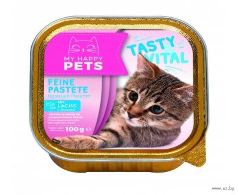 Консервы для кошек (100 г; лосось) — фото, картинка