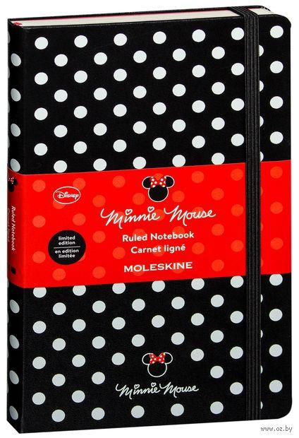"Записная книжка в линейку ""Minnie Mouse"" (А5)"