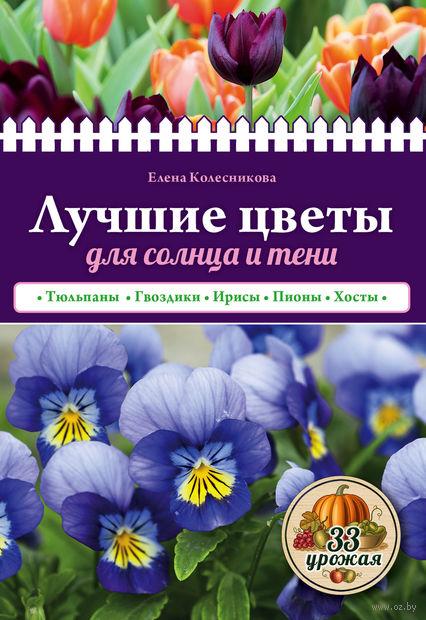 Лучшие цветы для солнца и тени. Елена Колесникова