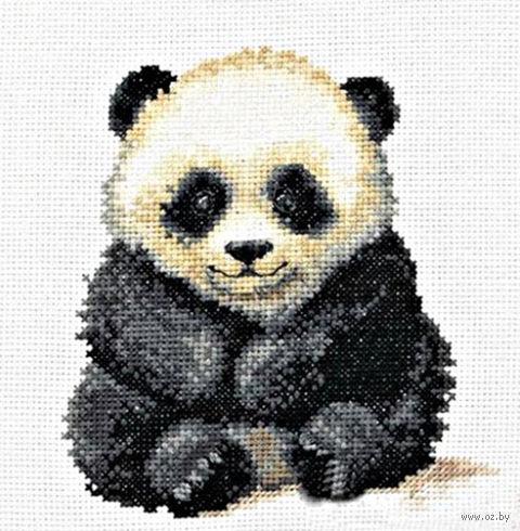 """Вышивка крестом """"Маленькая панда"""""""
